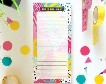 Shopping List Notepad