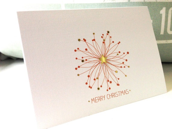 Corporate Christmas Cards.Christmas Cards Holiday Cards Personalized Christmas Card Custom Christmas Cards Corporate Card Christmas Snowflake In Copper