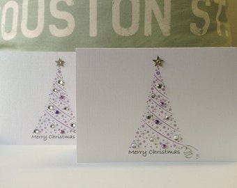 Christmas cards . Holiday Cards . Personalized Christmas Card . Handmade Christmas cards. Christmas Tree
