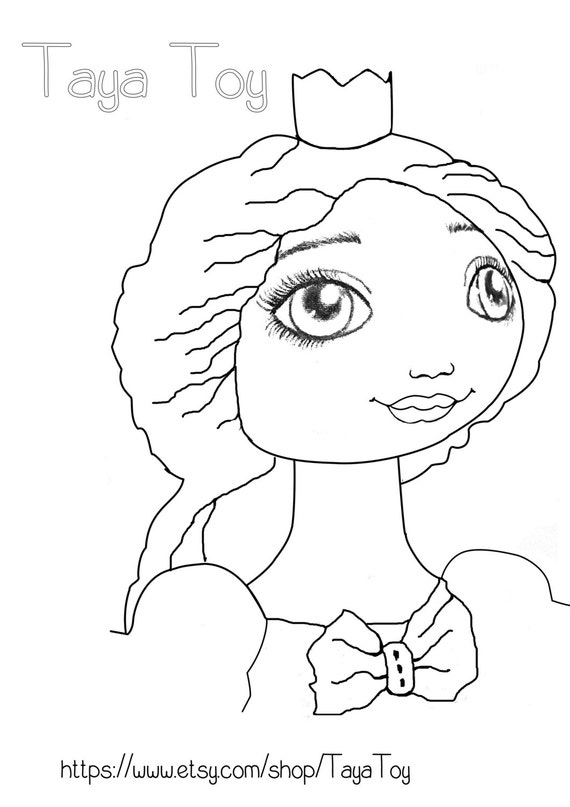 Colouring Page Nearly Free