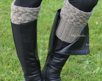 3c98f176558 Handknit leg warmers