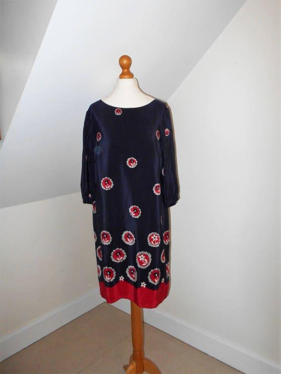 Celia birtwell silk dress designed exclusively for john lewis etsy image 0 mightylinksfo