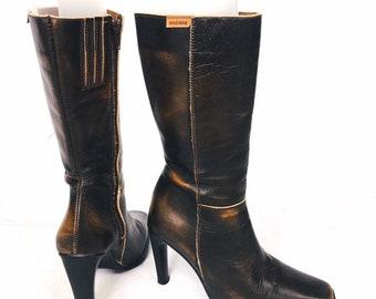 19092e4d89c Women's Boots - Vintage | Etsy UK