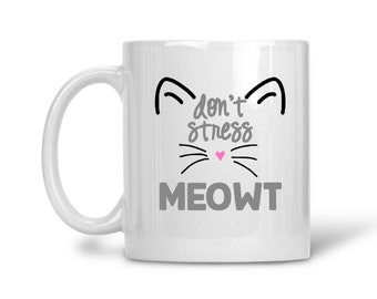 Tabby Cat Mug I/'M NOT JUST A CAT PERSON MUMMY Novelty Owner Lover Gift Present