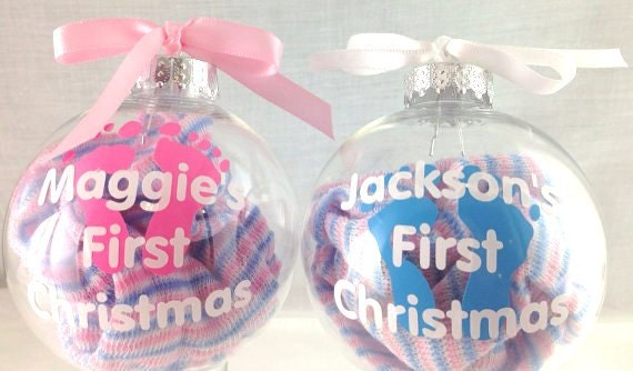 Babys First Christmas Christmas Tree Ornament 1st