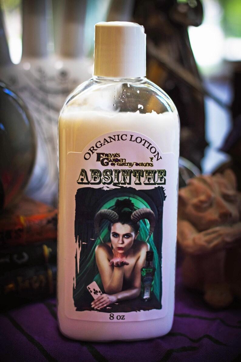 Absinthe Organic Lotion Vegan Skincare witchy gifts Vegan image 0