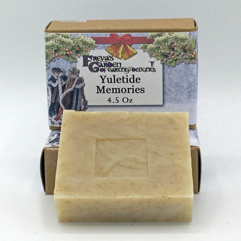 Yuletide Memories Essential Oil Soap Handmade All Natural image 0