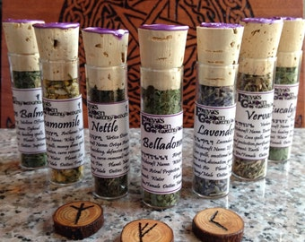 Herbal Witchcraft, Sacred Herbs, Magickal Herbs, Spell Kit, Pagan Herbs and Flowers, Witchcraft Supplies, Pagan Supplies