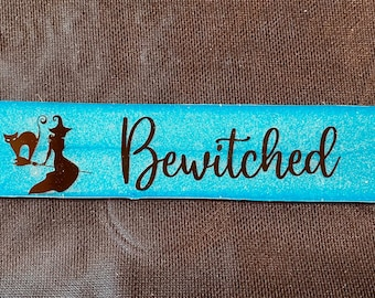 Bewitched Bookmark , Pagan Bookmarks, Witchy Lifestyle
