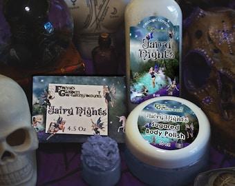 Spa Gift Box, Sugar Plum Fairy Gift Set, Fairy Nights Spa Kit, Lotion Scrub and Soap,