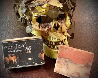 Samhain Soap , Halloween Soap, Samhain Ritual Soap Ready to ship