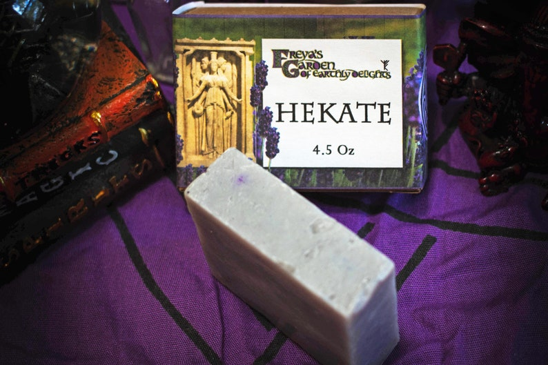 Hekate Lavender Ritual Bath Soap Vegan Lavender Soap image 0