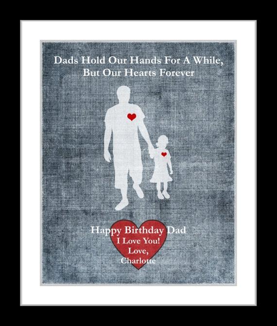 Regalos para el cumpleaños de Papá padres personalizados
