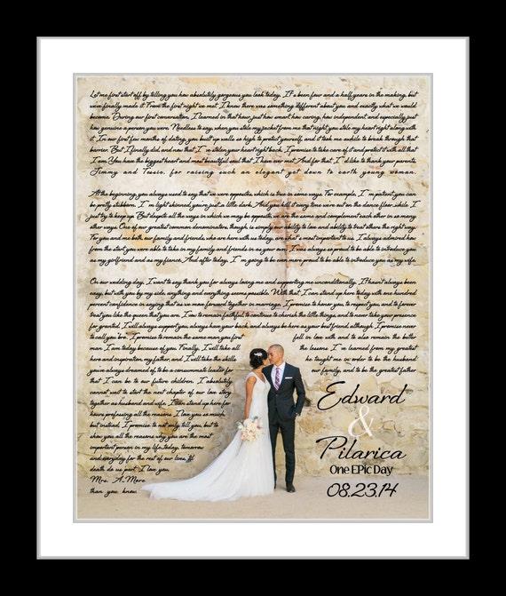Wedding Vows Wedding Song Lyric Art Wedding Vows Print Etsy
