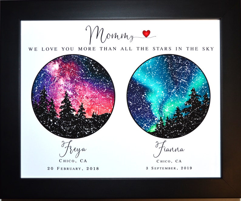 Personalized mother daughter gift for mom mothers day gift image 0