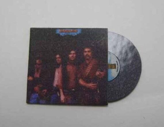 1 Miniature  /'EAGLES HOTEL CALIFORNIA /' record album Dollhouse 1:12 scale