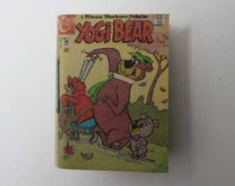 Comic Book Yogi Bear - dollhouse miniature 1:12 scale