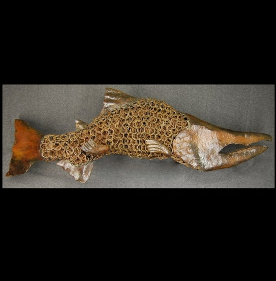 Chain Mail Sockeye Salmon