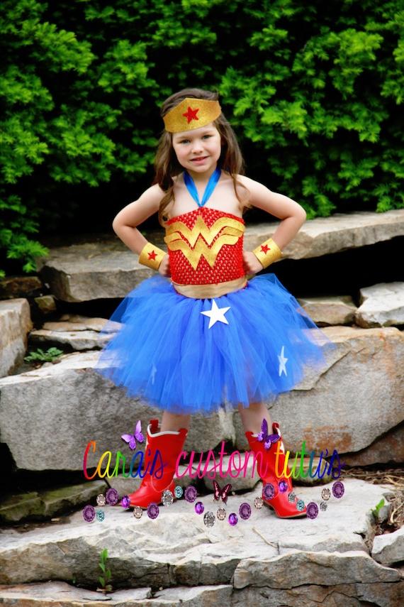Wonder woman pants costume-3634