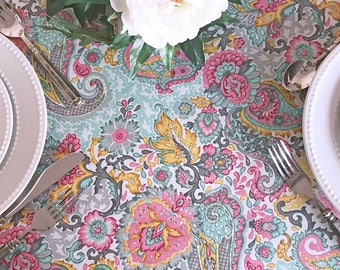 72 To 130 Oval Or Rectangle Coated I E Oilcloth Etsy