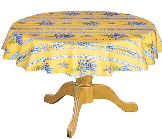 or custom made your size up to 115 diameter Umbrella Hole available 42 to 60 in Round Tablecloth Acrylic Coated Irun Rainbow
