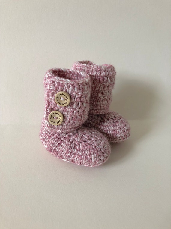 baby booties crib shoes crochet   Etsy