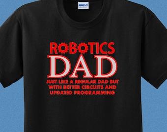 48922eb77c42 Robotics Dad Shirt - Robotics Mom Shirt - First Robotics Competition Shirt  Christmas Gift - FRC Shirt - Robotics Team Shirt