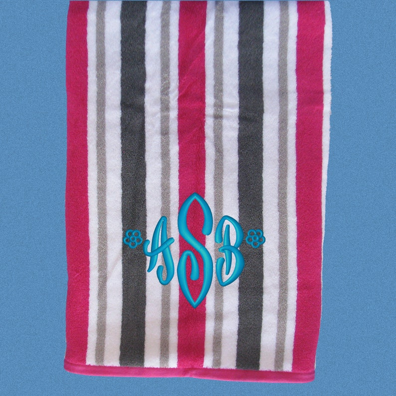 c169c633944e Personalized Beach Towel Monogrammed Beach Towels Kids Beach
