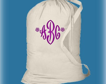 Graduation Gifts, Monogrammed Laundry Bags, Personalized Laundry Bags, Girls College Laundry Bag, College Gifts, Dorm Laundry