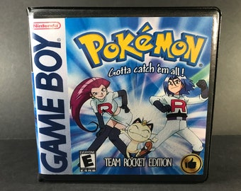 Pokemon My Ass ROM Hack Fan Game Custom Game Case and   Etsy