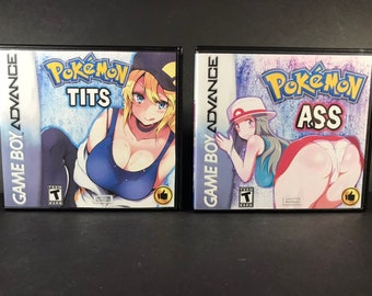 1d4eae20 Pokemon Tits and Ass Custom Cases NO GAMES T&A Case Only