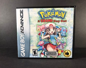 Pokemon My Ass ROM Hack Fan Game Custom Game Case and | Etsy