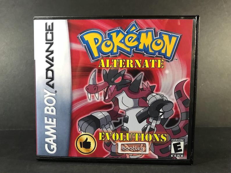 Pokemon fire red evolution hack rom