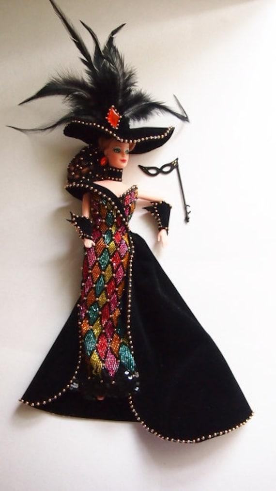 Vintage Barbie Dolls Vintage Bob Mackie Barbie Masquerade Etsy