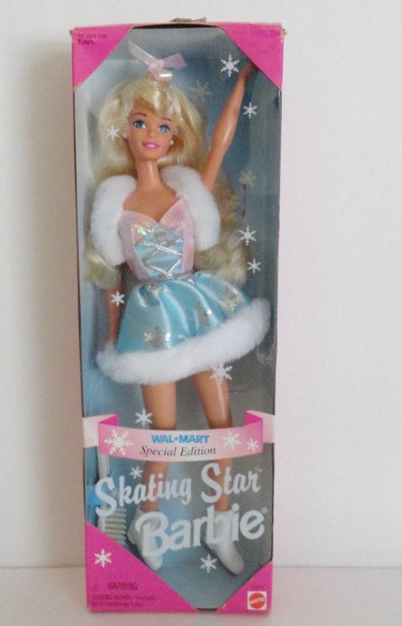 Barbie Dollsvintage 90s Skating Star Barbie Walmart Special Etsy