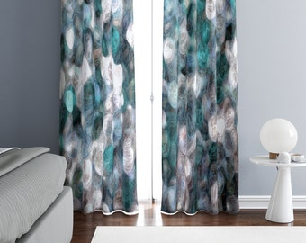 Watercolor Curtains Etsy