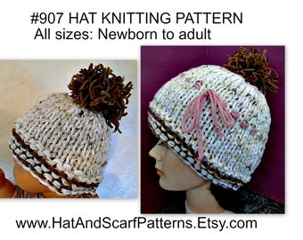 04648c261 france how to knit a newborn baby hat with straight needles xl 9f3f9 ...