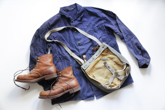 Light weight vintage French workwear