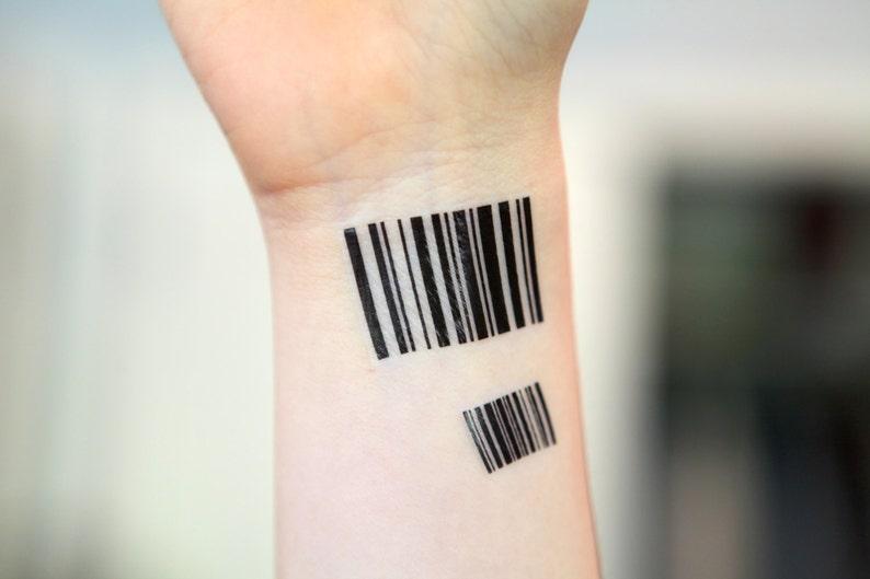 Atrament średni Duch Tymczasowy Tatuaż