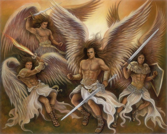 ángeles Guerreros Etsy