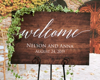 Wooden Wedding Signs.Wood Wedding Signs Etsy