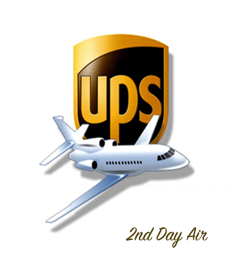 2nd Day Air with UPS - Rushed Shipping Charge