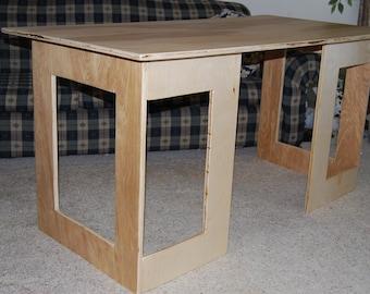 Simple Plywood Desk (PDF Instructions)