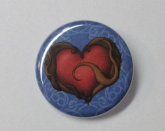 Button - Heart Container (original work)