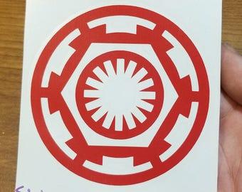Vinyl Decal - Galactic Order