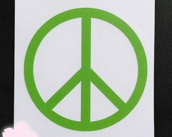 Vinyl Decal - Peace Sign
