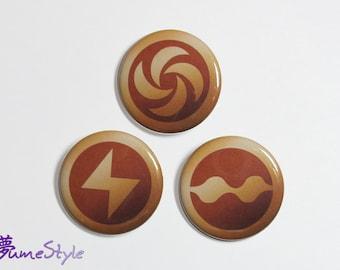 LttP Medallions - Button Set