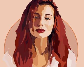 Tori Amos - Art Print