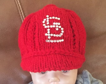 St. Louis Cardinals Baby Girl Baseball Cap for the Sports Fan