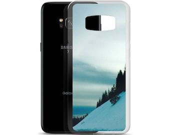 Samsung Case, phone case, phone cases, nature, art, photo, sun, snow